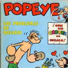 Cómics: POPEYE BULAN ENTRE 1 Y44 CONSULTAR SUELTOS-POPEYE NEW COMIC CAJA 5 Y 46C BIBLIOTE CA 85, CAJA Nº 1. Lote 25266814