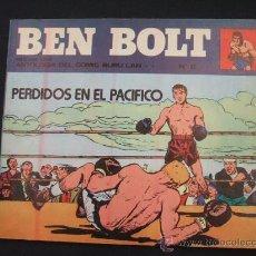 Cómics: BEN BOLT - Nº 6 - BURU LAN COMICS COLECCION AVENTURAS - PERDIDOS EN EL PACIFICO - 1.973 - . Lote 25791154