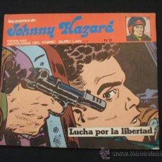 Cómics: JOHNNY HAZARD - Nº 9 - BURU LAN - LUCHA POR LA LIBERTAD - 1.973 - . Lote 25791176