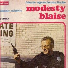 Cómics: MODESTY BLAISE - EL TRAIDOR . Lote 27226367