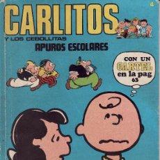 Cómics: CARLITOS Y LOS CEBOLLITAS Nº 4 -- APUROS ESCOLARES -- CONTIENE EL CARTEL. Lote 26368550