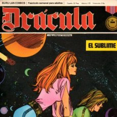 Cómics: DRACULA TOMO 2 Nº4- EL SUBLIME- ESTEBAN MAROTO- 1972. Lote 26482960