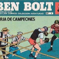Cómics: BEN BOLT Nº 1 - EDITA : EDICIONES BURULAN. Lote 26795238