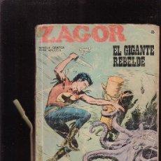 Cómics: ZAGOR Nº 35 - EDITA : BURU LAN 1972. Lote 26844680