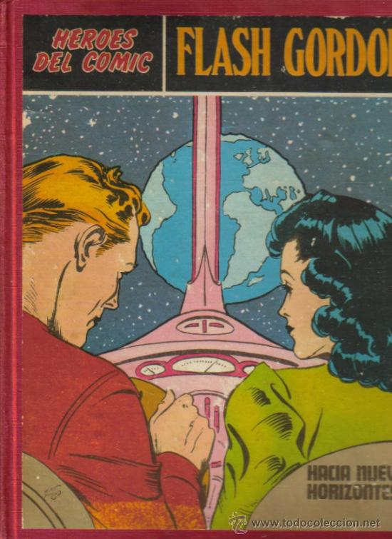 FLASH GORDON - HEROES DEL COMIC ENCUADERNADO (BURU LAN) ORIGINALES 1971 (Tebeos y Comics - Buru-Lan - Flash Gordon)