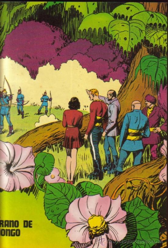Cómics: FLASH GORDON - HEROES DEL COMIC ENCUADERNADO (BURU LAN) ORIGINALES 1971 - Foto 3 - 27052755