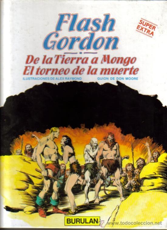 FLASH GORDON ÁLBUM (BURULAN) ORIGINALES 1983-1984 LOTE COMPLETO (Tebeos y Comics - Buru-Lan - Flash Gordon)