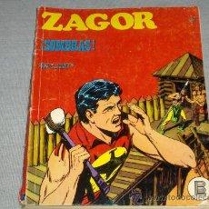 Cómics: ZAGOR 24. BURULAN 1971. 25 PTS.. Lote 27148516