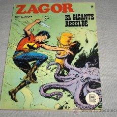 Cómics: ZAGOR Nº 35. BURU LAN 1972 25 PTS. Y DIFÍCIL.. Lote 27945558