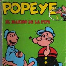 Cómics: POPEYE EL MARINO DE LA PIPA Nº 2 - BURULAN. Lote 28044523