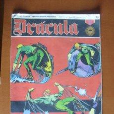 Cómics: DRÁCULA Nº 13 LA FUERZA MAGNETICA -- BURU LAN 1972. Lote 28100255