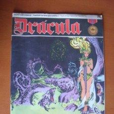 Cómics: DRÁCULA Nº 20 LA DIOSA DE LAS PROFUNDIDADES -- BURU LAN 1972. Lote 28100295