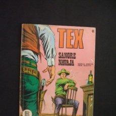 Cómics: TEX - NUMERO 44 - SANGRE NAVAJA - BURULAN - . Lote 28359993