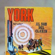 Cómics: COMIC, YORK, AL SON DEL CLARIN, BURU LAN, Nº 1. Lote 28382769