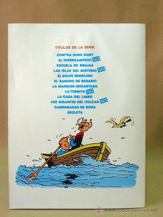 Cómics: COMIC, POPEYE EL MARINO, Nº 3, ESCUELA DE BRUJAS, BURULAN, 1983 - Foto 2 - 28447145