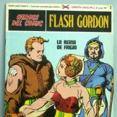 Cómics: FLASH GORDON Nº 2 LA REINA DE FRIGIA EDITORIAL BURU LAN BURULAN 1971. Lote 28479688
