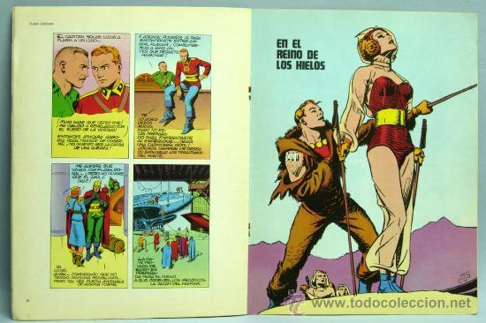Cómics: Flash Gordon Nº 2 La reina de Frigia Editorial Buru Lan Burulan 1971 - Foto 2 - 28479688