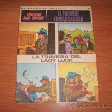 Cómics: EL HOMBRE ENMASCARADO BURU LAN BURULAN Nº 57 1972 . Lote 28681452
