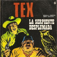Cómics: TEX Nº 43 LA SERPIENTE DESPLUMADA. Lote 28667555