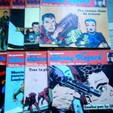 Cómics: JOHNNY HAZARD Nº 1 A 3 Y 5 A 9 LOTE(FRANK ROBBINS)(ESTADO DESIGUAL, ALGUNOS MAL). Lote 28237063