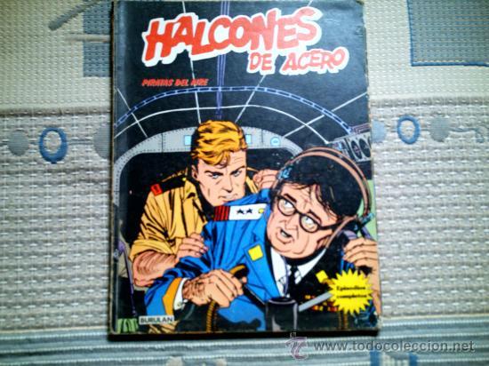 HALCONES DE ACERO. PIRATAS DEL AIRE (Tebeos y Comics - Buru-Lan - Halcones de Acero)