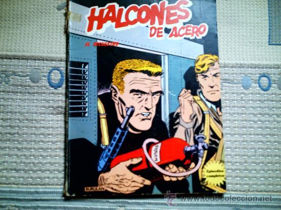 HALCONES DE ACERO. EL SECUESTRO (Tebeos y Comics - Buru-Lan - Halcones de Acero)