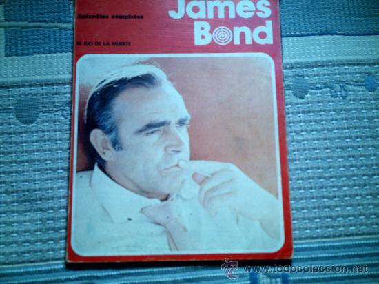 JAMES BOND. EL RIO DE LA MUERTE, DE HORAK (BURULAN, RUSTICA) (Tebeos y Comics - Buru-Lan - James Bond)