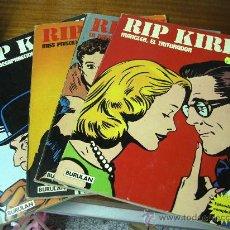 Cómics: RIP KIRBY / 4 NÚMEROS DE 80 PÁGINAS / BURULAN 1974. Lote 28743262