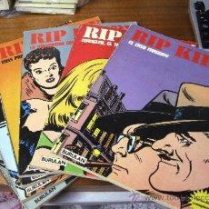 Cómics: RIP KIRBY / 6 NÚMEROS DE 80 PÁGINAS / BURULAN 1974. Lote 28743401