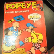 Cómics: POPEYE Nº 19 POPEYE ESTUDIANTE BURU LAN ............C9. Lote 29041384
