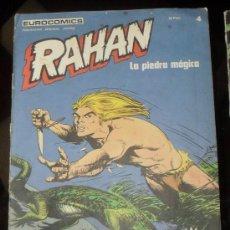 Comics: RAHAN Nº 4 EUROCOMICS. 1974 COMICS BURULAN. BURU LAN. LA PIEDRA MAGICA.. Lote 29009828