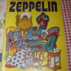 Cómics: ZEPPELIN COLECCION COMPLETA DE 12 COMIC MUY BUEN ESTADO SIN ENCUADERNAR BURU LAN 1973. Lote 29038022