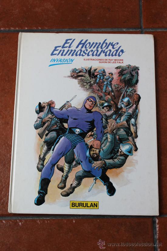 EL HOMBRE ENMASCARADO: INVASION - BURULAN (Tebeos y Comics - Buru-Lan - Hombre Enmascarado)