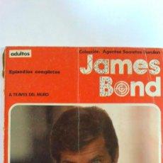 Cómics: JAMES BOND(A TRAVES DEL MURO).Nº1. EPISODIOS COMPLETOS BURULAN 1974.RUSTICA A TODO COLOR. Lote 29423754
