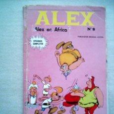 Cómics: ALEX EN AFRICA Nº 8 / BURU LAN BURULAN 1973. Lote 29594962