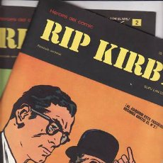Cómics: RIP KIRBY Nº 1 Y 2. 1973 BURU LAN . Lote 29634441