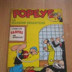 Cómics: POPEYE LA MANSION ENCANTADA Nº 7 . Lote 29647077