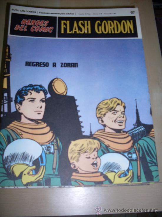 BURU LAN -FLASH GORDON - NUMERO 67 (Tebeos y Comics - Buru-Lan - Flash Gordon)