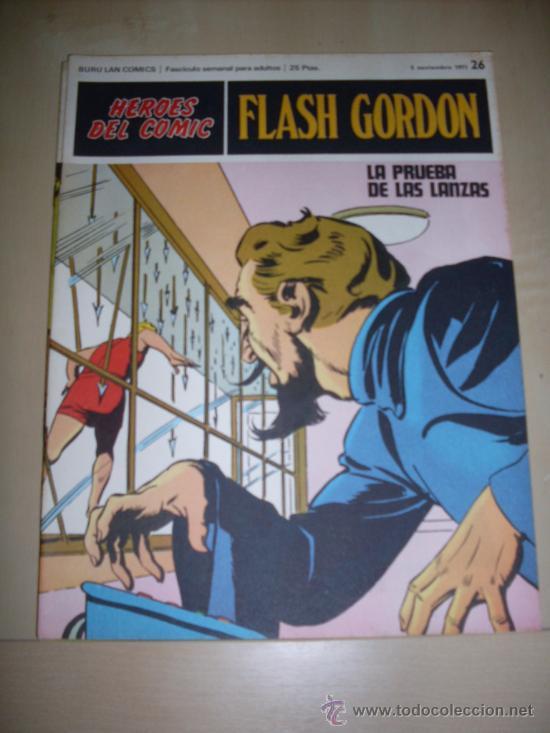 BURU LAN -FLASH GORDON - NUMERO 26 (Tebeos y Comics - Buru-Lan - Flash Gordon)