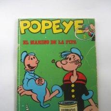 Cómics: COMIC POPEYE - Nº 2 - ORIGINAL AÑO 1970 - EDIT.BURU LAN. Lote 30350217