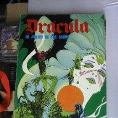 Comics: DRACULA : LA MUJER DE LOS LOBOS - ALBUM 96 PAGINAS - ESTEBAN MAROTO / BURULAN BURU LAN. Lote 30906374