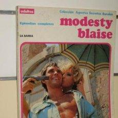 Cómics: TOMO MODESTY BLAISE - LA BARRA - CONTRA LA MAQUINA - BURU LAN EDICIONES BURULAN. Lote 31012699
