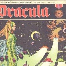 Comics : DRACULA Nº 1 - CINCO POR INFINITO EDI. BURULAN 1972 POR ESTEBAN MAROTTO. Lote 31136456