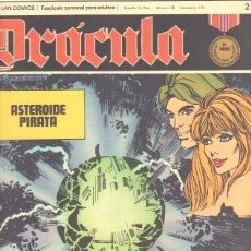 Cómics: DRACULA Nº 2 - CINCO POR INFINITO EDI. BURULAN 1972 POR ESTEBAN MAROTTO. Lote 31136476