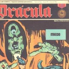 Cómics: DRACULA Nº 3 - CINCO POR INFINITO EDI. BURULAN 1972 POR ESTEBAN MAROTTO. Lote 31136487
