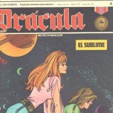Cómics: DRACULA Nº 4 - CINCO POR INFINITO EDI. BURULAN 1972 POR ESTEBAN MAROTTO. Lote 31136491