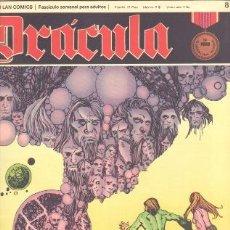 Cómics: DRACULA Nº 8 - CINCO POR INFINITO EDI. BURULAN 1972 POR ESTEBAN MAROTTO. Lote 31136507