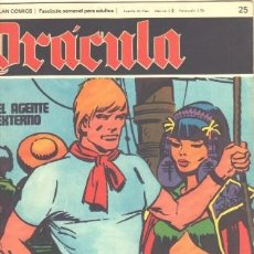 Cómics: DRACULA Nº 25 - DELTA 99 POR CARLOS GIMENEZ - BURULAN 1972. Lote 31136545