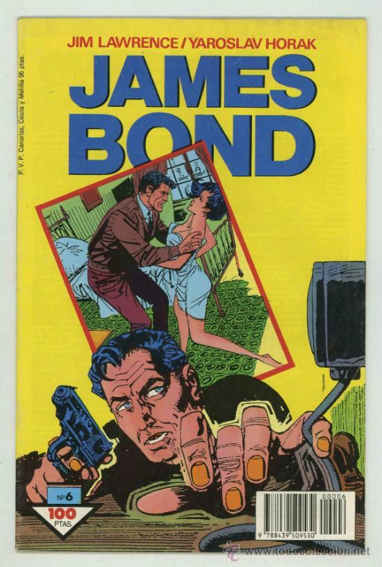 JAMES BOND Nº6. (Tebeos y Comics - Buru-Lan - James Bond)