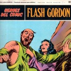 Cómics: BURU LAN COMICS, HÉROES DEL COMIC, FLASH GORDON, LA LOCURA DE ZARKOV. Lote 31625684